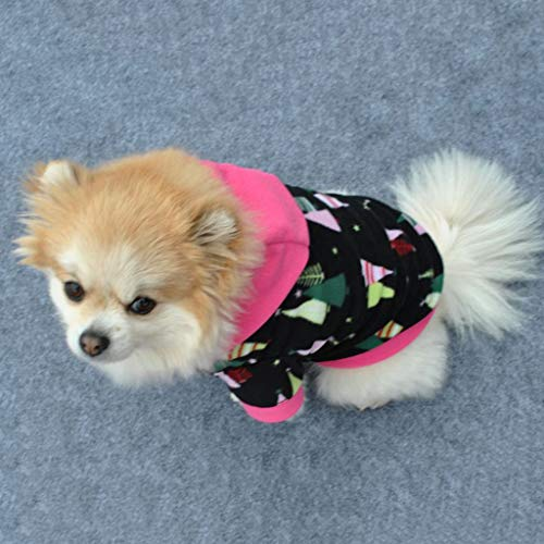 FTXJ Puppy Hooded Sweatershirt Fleece for Small Dog Girls Boys Winter Warm Sweater Coat Puppy Costume for Chihuahua/Yorkie / Keji/Bago ...