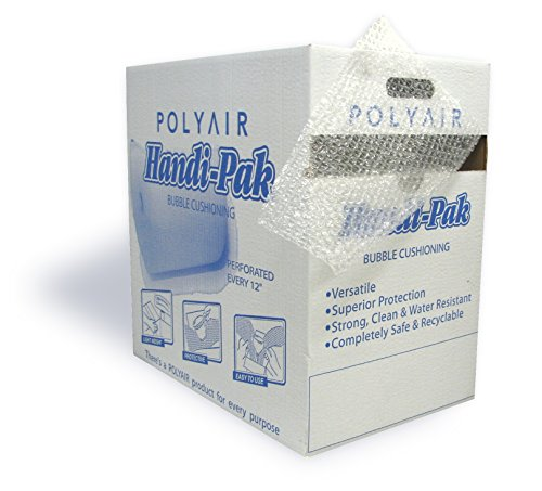 Polyair Handi-Pack HPS12 Durabubble Bubble Cushion Dispenser Style Box, 12