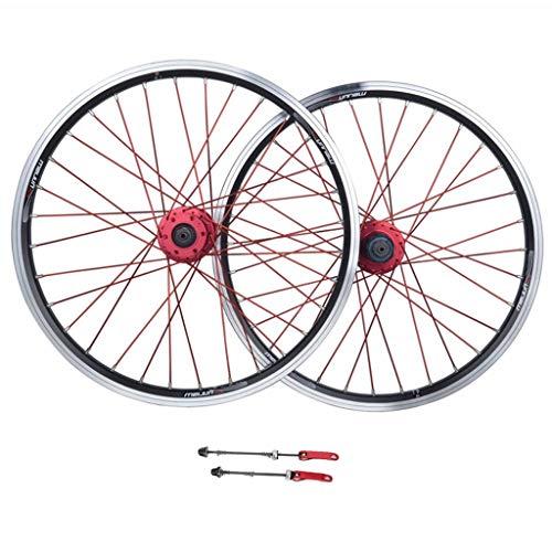 ZNND Fahrrad-Laufradsatz, 26inch Aluminiumlegierung MTB Radfahren Räder V-Brake Scheibenfelgenbremse Abgedichtete Lager 11 Geschwindigkeit Hybrid Bike Touring (Color : A, Size : 26inch)