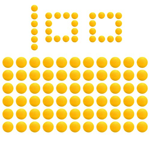 ZITFRI 100Pcs Balles Recharges Munition Balle Boules Recharge