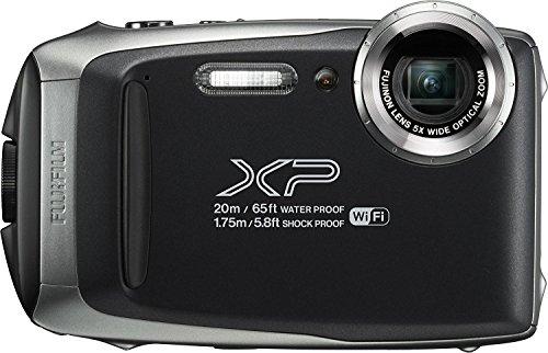 Fujifilm FinePix XP130 Waterproof Digital Camera w/16GB SD Card - Silver