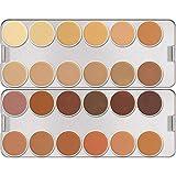 Kryolan Palette Dermacolor Camouflage Creme 24 shades Model K