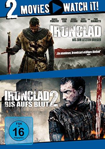 Ironclad - Bis zum letzten Krieger / Ironclad 2 - Bis aufs Blut [2 DVDs]