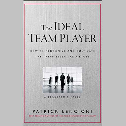 The Ideal Team Player audiobook cover art