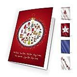 Unicef XR16042017 Felicitaciones de Navidad Good Wishes Pack de 10 Tarjetas