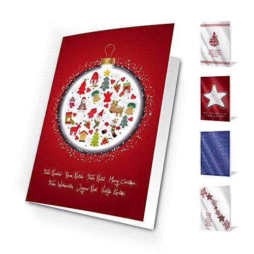 Unicef XR16042017 Grußkarten good wishes, 10 Stück