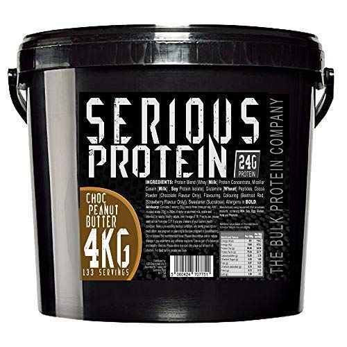 Bulk Protein Company Serious Protein 4kg Choc Peanut Butter