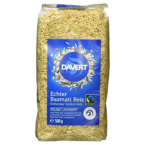 Davert Echter Basmati Reis braun, 500g