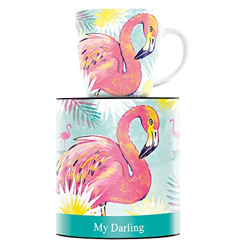 RITZENHOFF My Darling Kaffeebecher von Nils Kunath, aus Porzellan, 300 ml, mit trendigen Motiven
