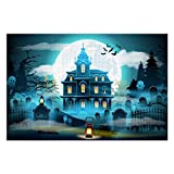 Halloween Night Puzzles for Adults, 300 Piece Kids Jigsaw Puzzles Game Toys Gift for Children Boys and Girls, 10' x 15'