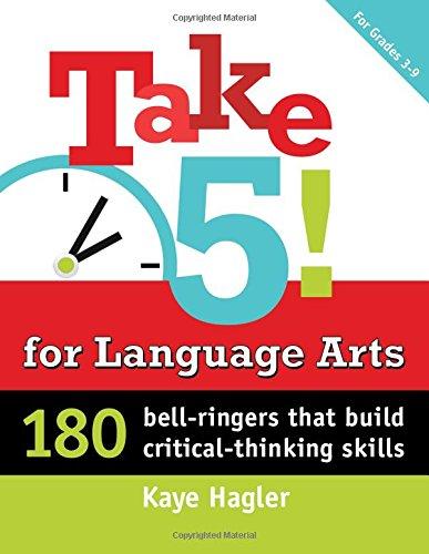 Take Five! for Language Arts: 18...