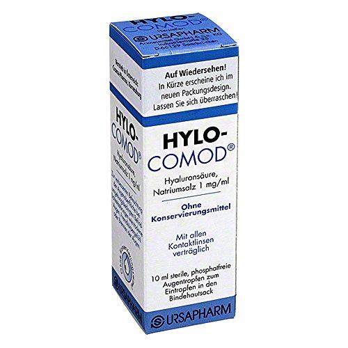 CROMA Hylo-Comod Augentropfen ohne Konservierungsmittel, 10 ml Lösung