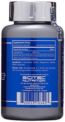 Scitec Nutrition Mega Glutamin, 90 Kapseln - 3