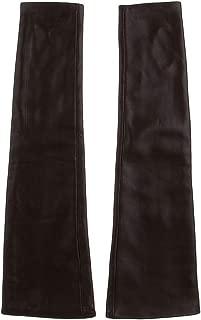 FITYLE Women Opera Long Leather Winter Warm Half Finger Fingerless Driving Gloves