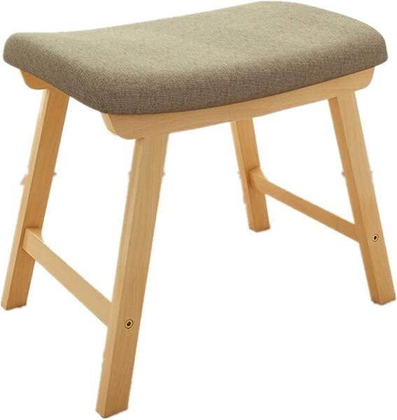 Quelife Vanity Modern Concave Seat Makeup Dressing Stool Padded Bench Saddleback 18 Inch Barstool