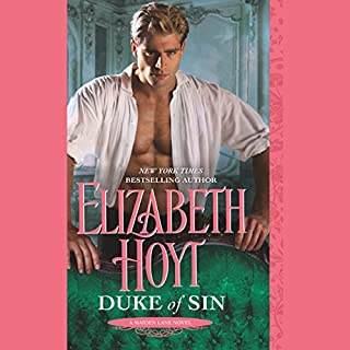 Duke of Sin audiobook cover art