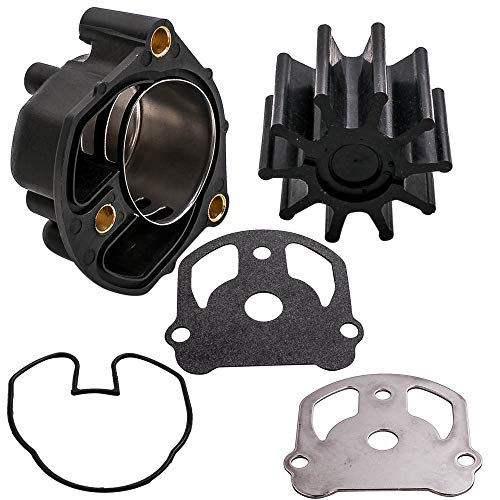 maXpeedingrods Water Pump Impeller Kit for OMC Cobra with Liner replaces 984461 983895 777128