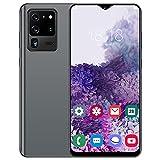 Jopwkuin Smartphones Desbloqueados, 6.26in HD Dual Cards Dual Standby Smartphone Dmartphones con 480x1014 para Pantalla Waterdrop Desbloqueo Facial De Teléfonos Móviles(Enchufe DE LA UE)