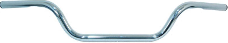 Emgo 1in. Dimple (Harley) Low Buckhorn Handlebar - Chrome , Farbe  Chrome, Handle Bar Größe  1in. 07-12520