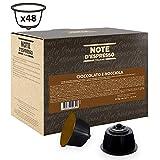 Note D'Espresso - Cápsulas de chocolate con avellana compatibles con cafeteras Dolce Gusto, 14g (caja de 48 unidades)