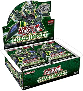 Yu-Gi-Oh COIP Chaos Impact Booster Box of 24 Packets