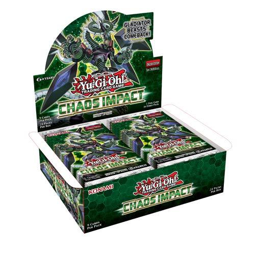 Yu-Gi-Oh COIP Chaos Impact Booster Caja de 24 Paquetes