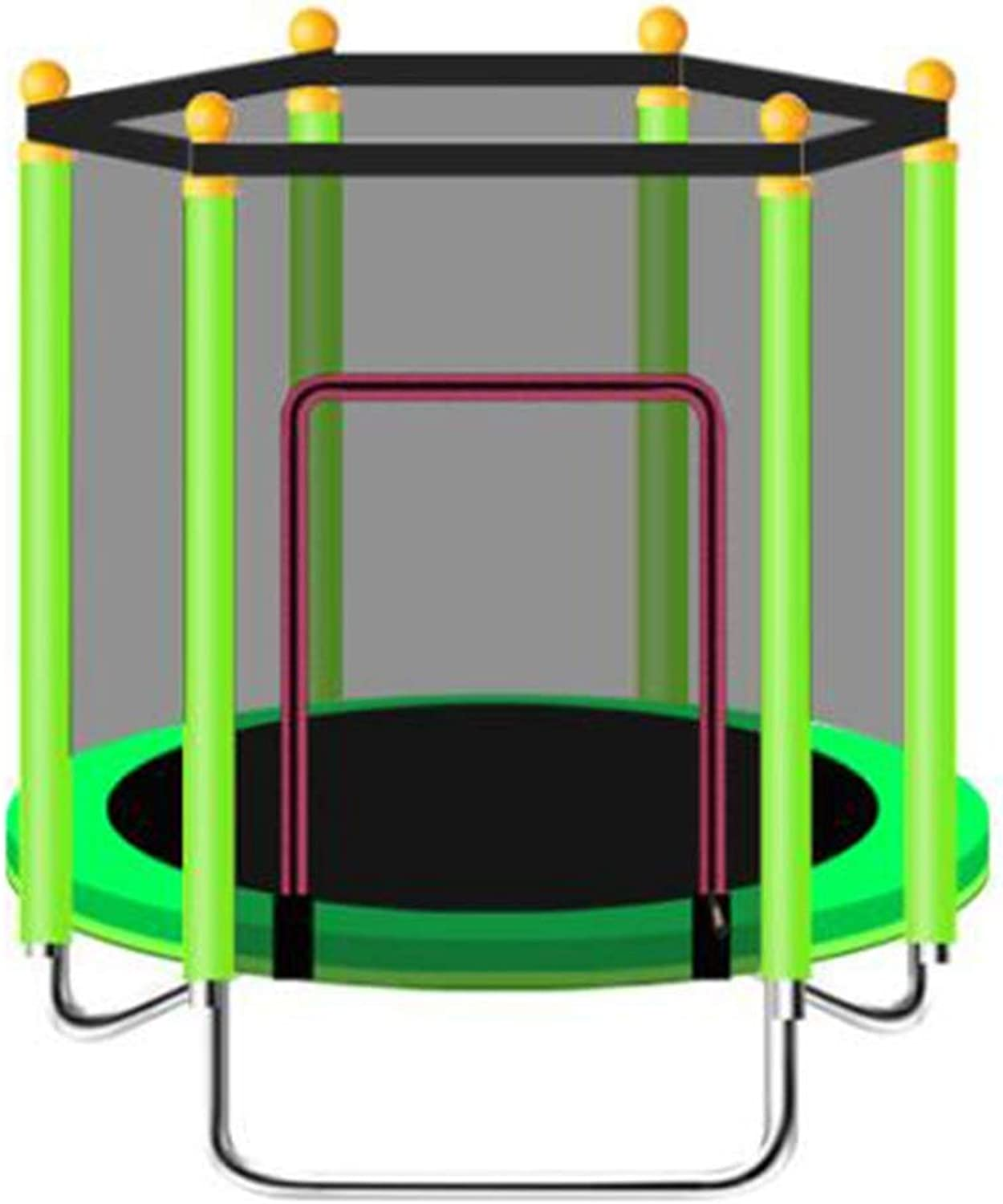 Xiaomei Trampoline Trampolines for Kids Easy to Assemble with Safety Net Fitness for Adult and Kids Ideal for Indoor Or Outdoor Used in Home, Outdoor