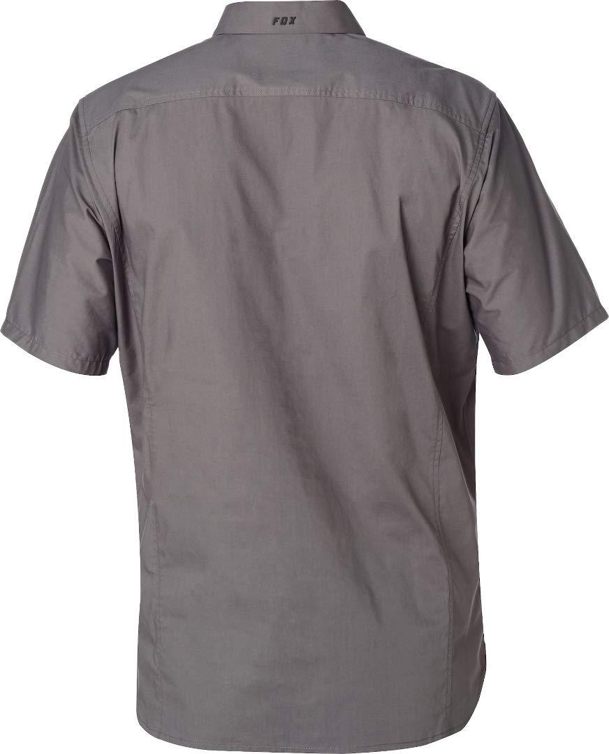 Fox Racing 21221 - Camiseta de Trabajo con Placa roja Flexair, Large, STL Gray: Amazon.es: Deportes y aire libre