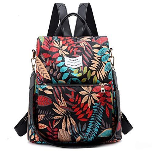 Damen Reise-Anti-Diebstahl Rucksack Damen Rucksack Nylon Wasserdicht Daypack Leichte Schulumhängetasche - Große Kapazität und Langlebig