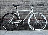 ZTYD Vélo de Route, 26 Pouces, prêt de vélos Système de freinage arrière, Armature en Acier au...