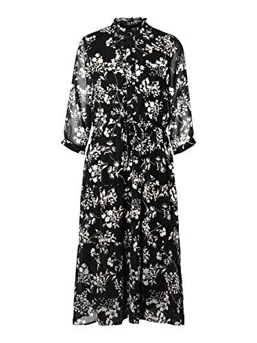 Vero Moda dames Casual jurk VMDINO 34 CALF DRESS WVN DA GA