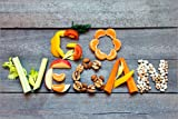 Poster 30 x 20 cm: go vegan von Editors Choice -