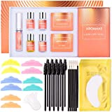 Aroamas Eyelash Perm Kit, Professional Eyelash Lash Extensions, Upgrade Lash Curling, Lash Lifts, Semi-Permanent Curling Perming Wave Suitable