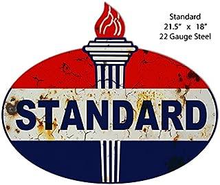 Garage Art Signs Vintage Standard Reproduction Laser Cut Out Metal Sign 18x21.5