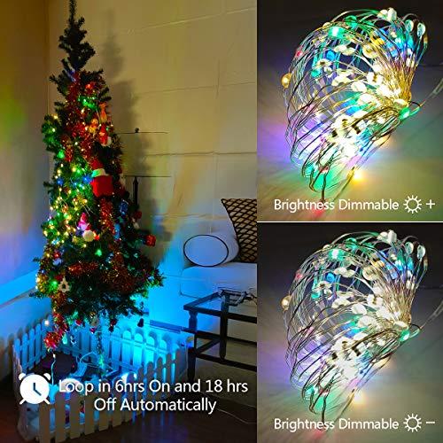 Hofert 100 Multi-Color Synchronized Musical Mini Christmas Lights Green Wire