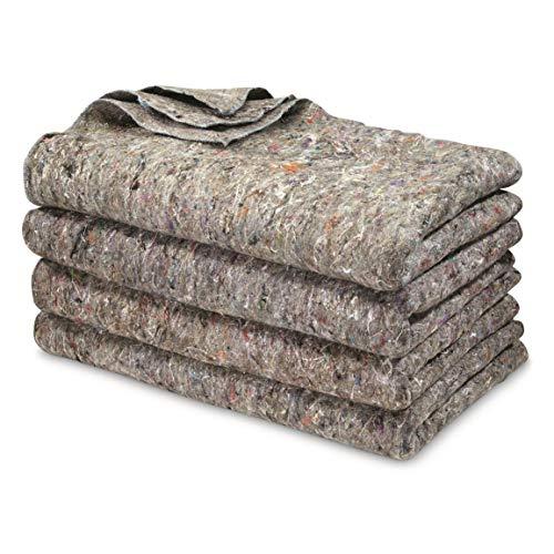 U.S. Military Surplus 4 Pack Wool Blankets,...