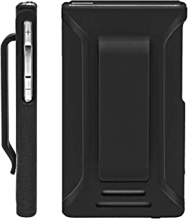 i2 Gear Case Compatible with iPod Nano 7, 8 - iPod Nano 7th 8th Generation Slim Shell Case Cover with Belt Clip (Thin, Black)