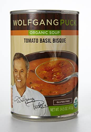 Wolfgang Puck Soup Organic Tomato with Basil 14 5 oz Pack of 12 product image