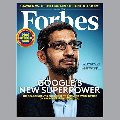『Forbes, June 29, 2016』のカバーアート