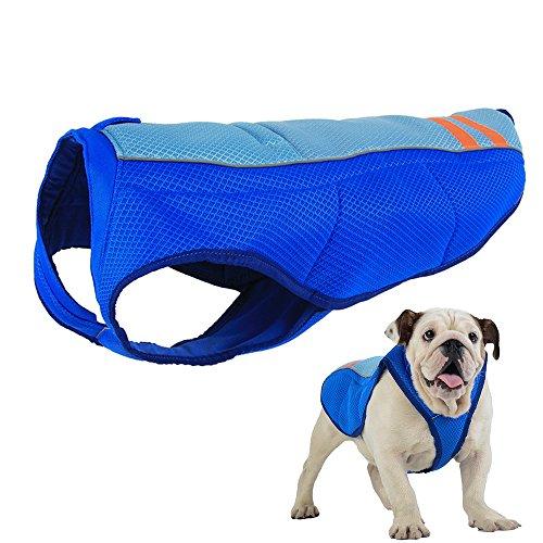 JunBo Pet Cooling Vest Pet Cooling Coat for Medium and Big Dogs for Heatstroke Prevention (M)