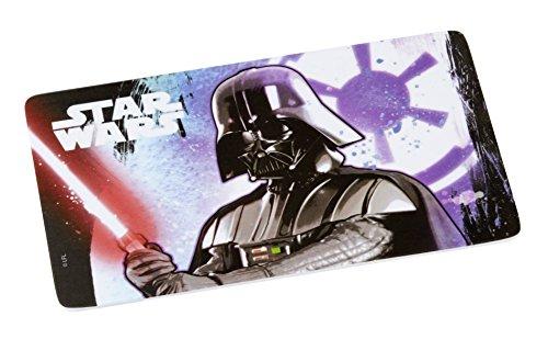 Star Wars 12957Tabla de Cortar, melamina, Multicolor, 23x 14x 0.3cm