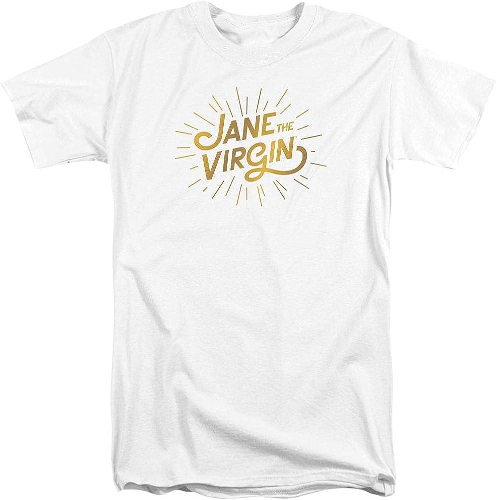 Jane The Virgin Golden Logo Adult Tall Fit T-Shirt
