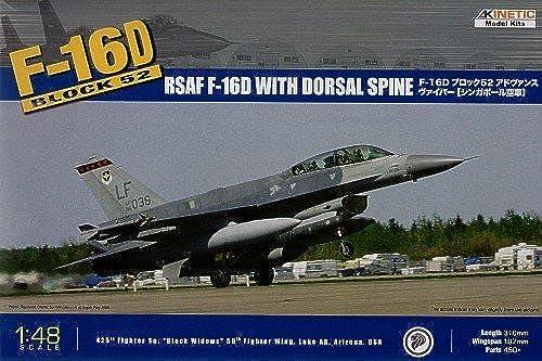 Kinetic K48007 - F-16D Block 52 und RSAF Flugzeug