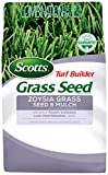 Scotts Turf Builder Grass Seed Zoysia Grass Seed and Mulch, 5 lb. - Full Sun and Light...