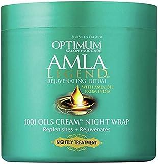 Softsheen Carson Optimum Amla Legend 1001 Oils Cream Night Wrap, 4 oz.