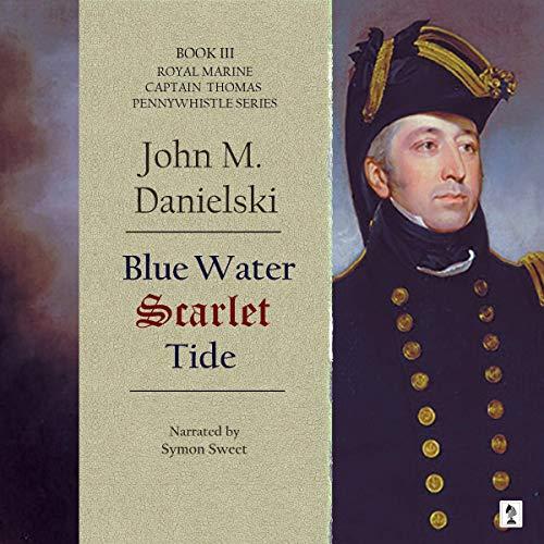 Blue Water Scarlet Tide audiobook cover art