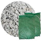 Schicker Mineral Zeolith Filterset (25 kg Zeolith und 2 Filtersäcke) Gartenteich, ideal geeignet als Wasseraufbereiter (4,0-8,0 mm)