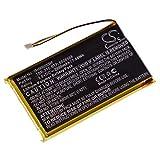 vhbw Akku passend für Crestron TSR-310 Handheld Computer Scanner (2000mAh, 3,8V, Li-Polymer)