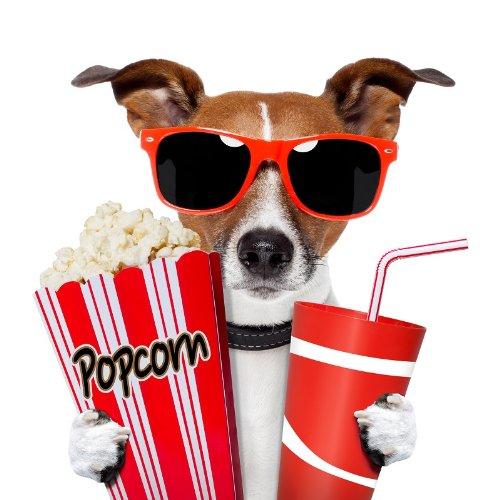 Chico - Der Kinogänger: Eine originelle Kino-Einladungskarte
