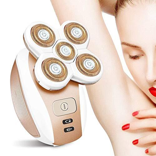 Haarentferner Für Frauen Kinder Schmerzloser Körper Gesichtsbehandlung Elektrischer Rasierer Rasierapparat Trocken USB Wiederaufladbar Schnurlos Wasserdicht